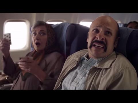 Jimmy Vestvood: Amerikan Hero - Plane Scene (ft. Maz Jobrani) #travelban