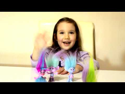 ТРОЛЛИ игрушки видео Троллс 2016 Мультик Тролли