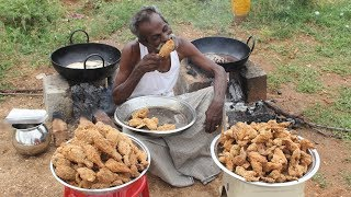 Download Video KFC Chicken / 100 Legs / 100 Wings / Prepared by my DADDY / Village food factory MP3 3GP MP4