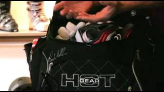 Hot Gear Classic Ski Boot Bag Video