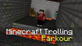 Minecraft Trolling: Parkour (ItsJerryAndHarry)