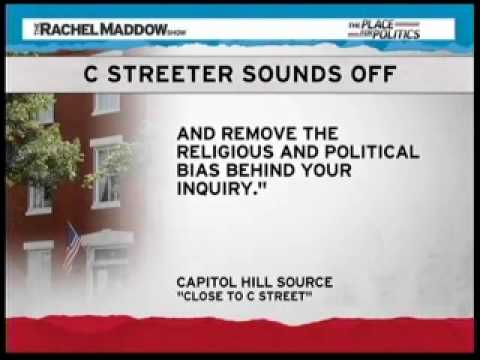 Rachel Maddow Spotlights C Street House Controversy