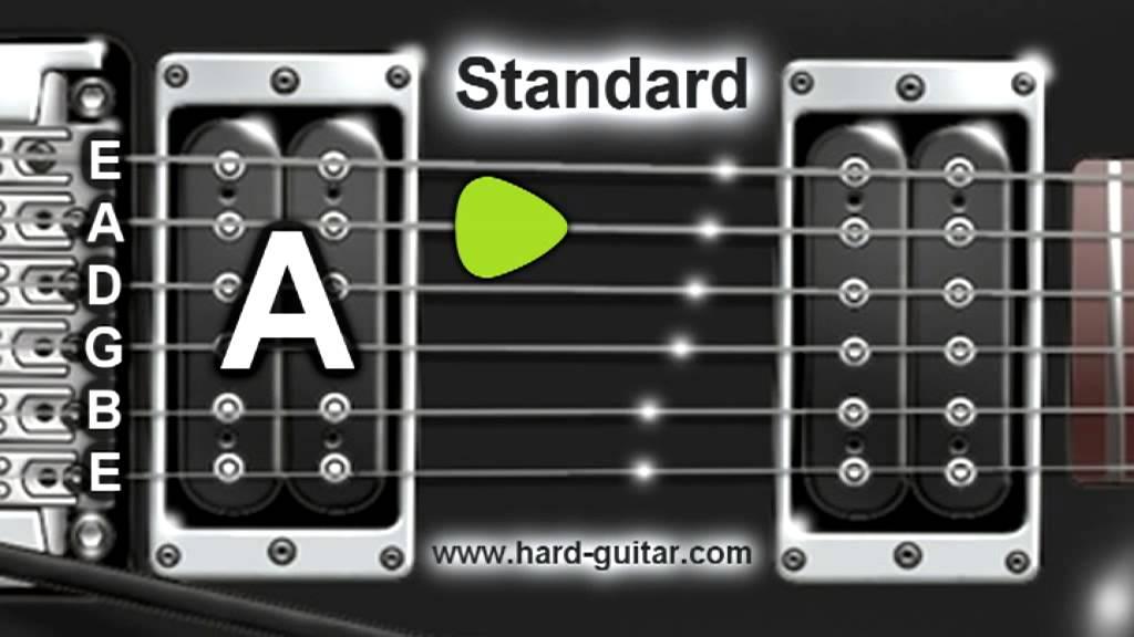 Best Online Guitar Tuner – E Standard Tuning (E A D G B E)