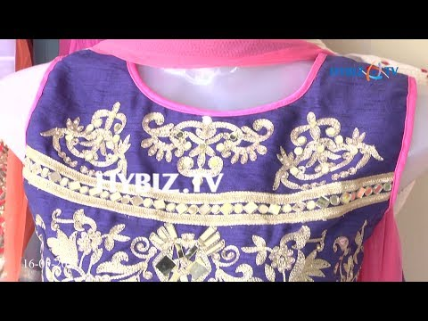 , Rainbow colored Party Wear Anarkali Suit