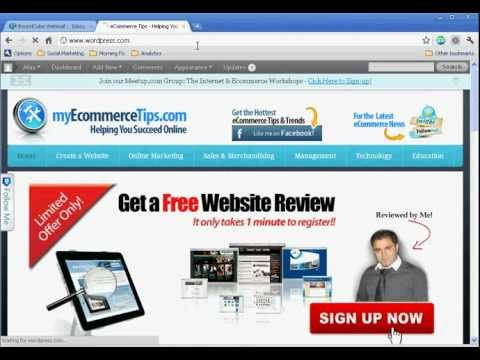 How to Create a Blog on WordPress – Step-by-Step Tutorial (2011)