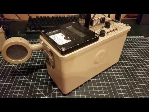 Ludlum Model 2221 Geiger counter / Scaler / Single Channel Analyzer