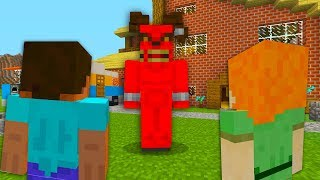ALEX AND SATAN MINECRAFT - SATAN STEALS STEVES GIRLFRIEND ALEX