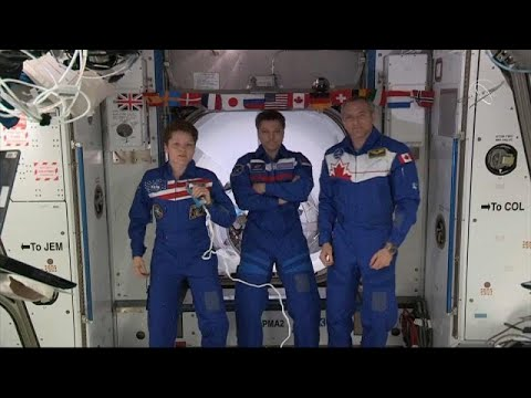 Έφτασε η κάψουλα Dragon της SpaceX στον Διεθνή Διαστημικό Σταθμό…