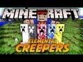 Vilhena Mostra MODS #Elemental Creepers!?!