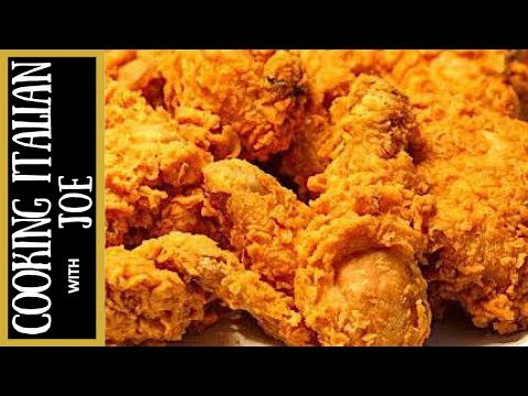 How to Make World's Best Fried Chicken Recipe Cooking Italian with Joe