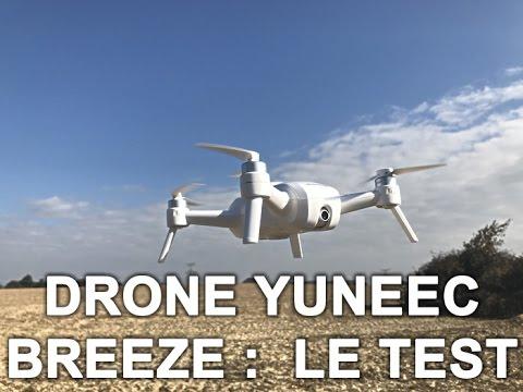 Drone Yuneec Breeze : le test de Presse-citron