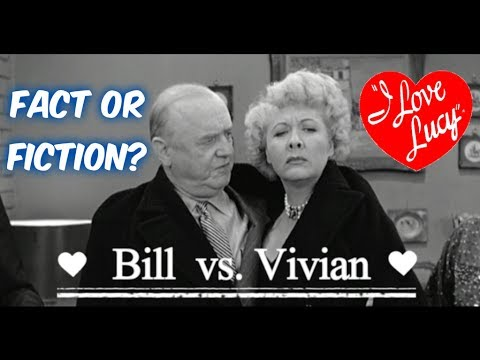 FACT OR FICTION?: Bill Frawley vs. Vivian Vance Feud--