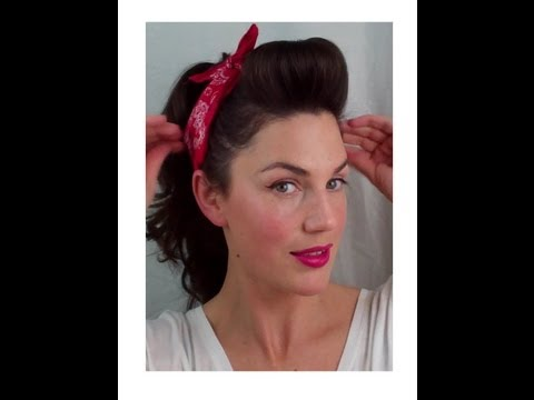 6 PIN UP looks for BEGINNERS ( QUICK and EASY VINTAGE/ RETRO hairstyles) - Vintagious