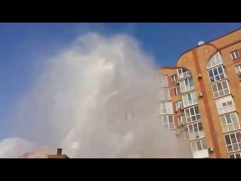 Видео дня - омский гейзер