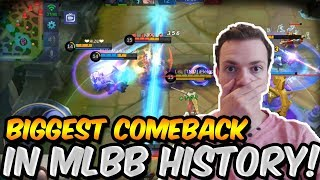 Download Video THE GREATEST COMEBACK IN MLBB HISTORY | LESYLEY 100% WINRATE | MOBILE LEGENDS MP3 3GP MP4