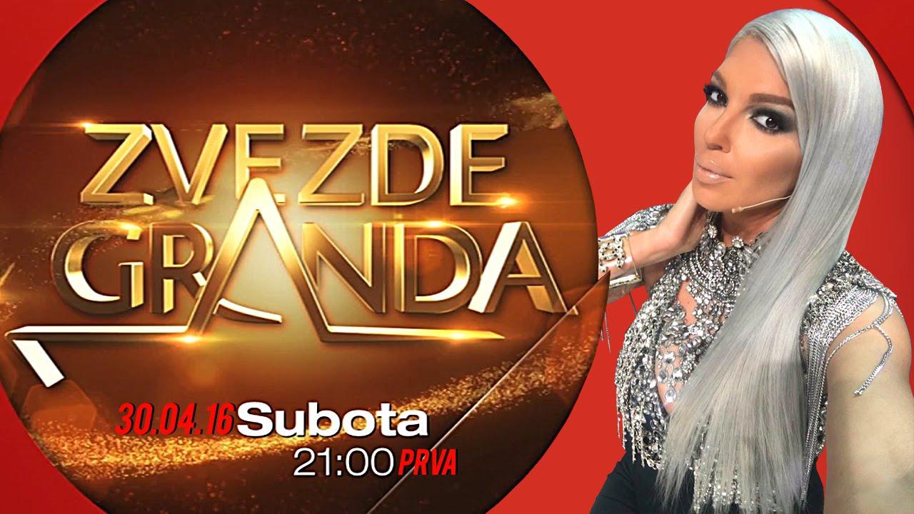 ZVEZDE GRANDA 2016 – trideset druga emisija – 30. 04. – najava