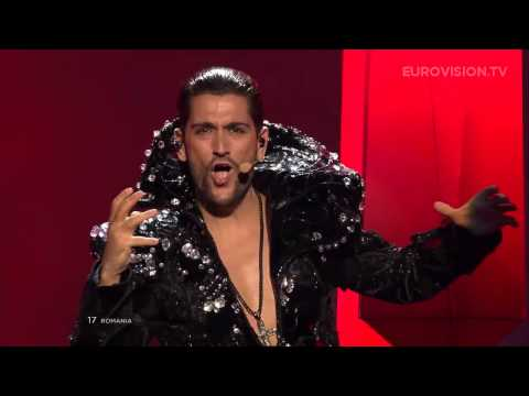 Romania - Powered by http://www.eurovision.tv Romania: Cezar - It's My Life live at the Eurovision Song Contest 2013 Semi-Final (2)