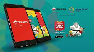 Telkomsel Asian Games 2018 Apps