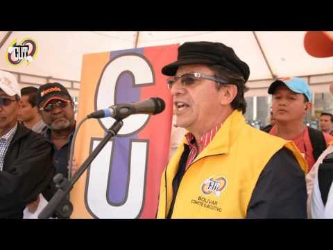 Discurso del presidente de la CUT en la Gran Toma a Bogotá