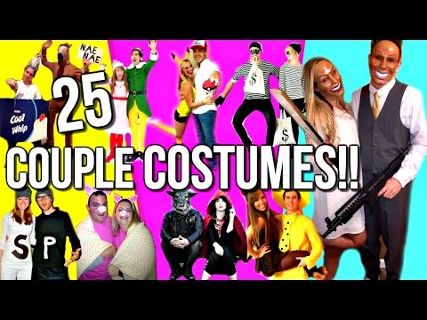 25 DIY HALLOWEEN COUPLE COSTUME IDEAS | Courtney Lundquist