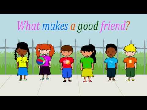 What makes a good friend? (Album version)