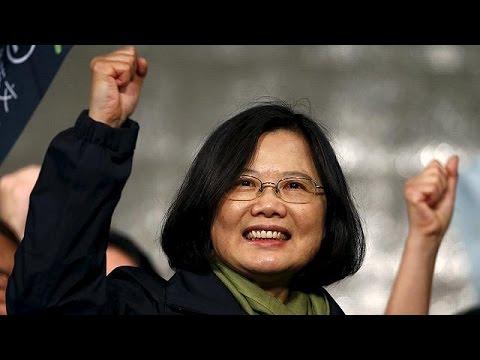 Ταϊβάν: Σε γυναικεία χέρια ο προεδρικός θώκος