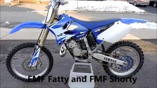 6. FMF Exhaust vs Stock Yz125
