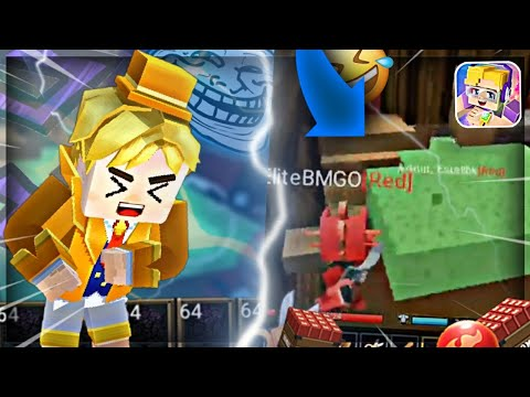 TROLLING ONLY Challenge in Bedwars 😂😂 (Blockman GO Bedwars Funny Moments!)