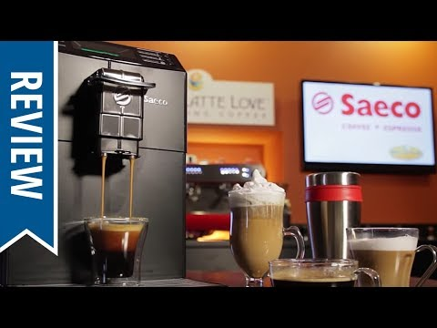 Saeco Minuto Focus Super-Automatic Espresso Machine