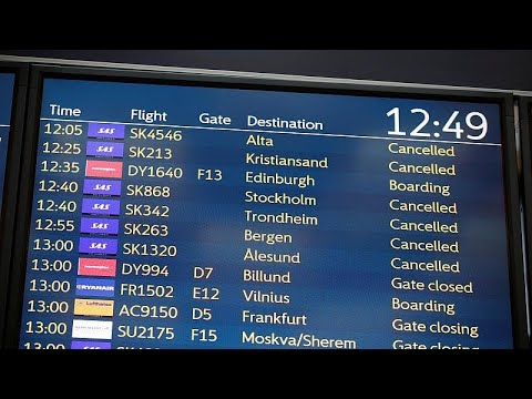Συνεχίζεται η απεργία στις Σκανδιναβικές Αερογραμμές