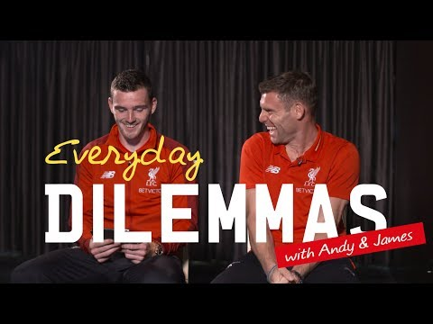 Milner And Robertson Answer 'Everyday Dilemmas' | The Perfect Cuppa, Red Or Brown Sauce And More