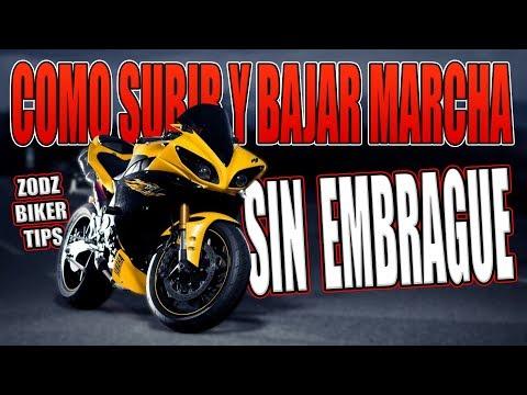 COMO SUBIR Y BAJAR MARCHA SIN EMBRAGUE EN MOTO !!!