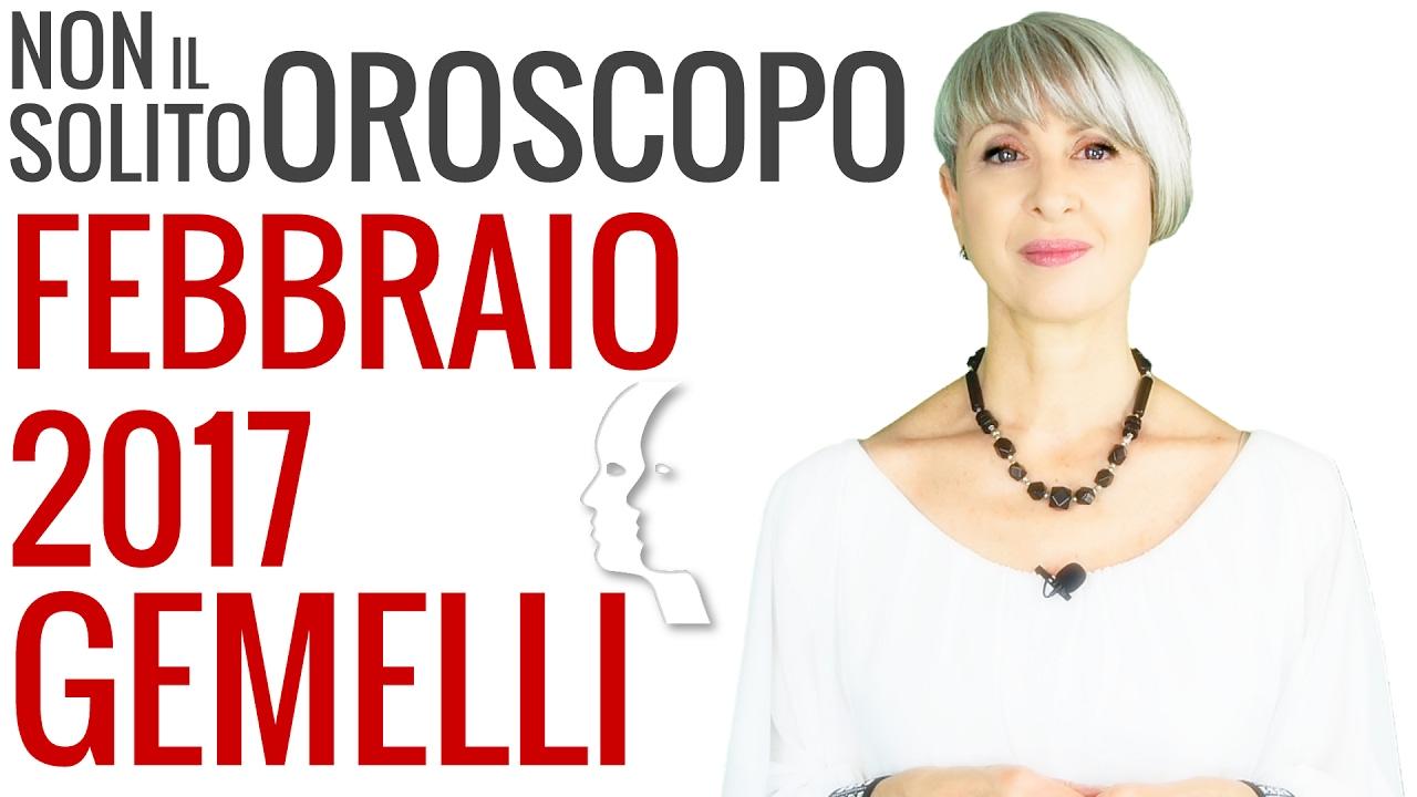GEMELLI ★ Previsioni OROSCOPO Febbraio 2017