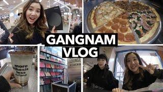 Gangnam Vlog: Pizza, Tiramisu Lattes, & K-Beauty Galore!