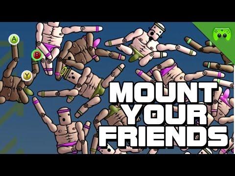 MOUNT YOUR FRIENDS # 16 - Der Menschenbaum «» Let's Play Mount Your Friends | HD