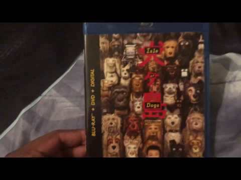 Isle Of Dogs Blu Ray Unboxing