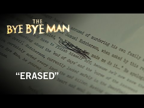 The Bye Bye Man (Clip 'Erased')
