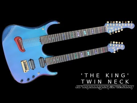Crimson King | John Petrucci double neck guitar demo part 1