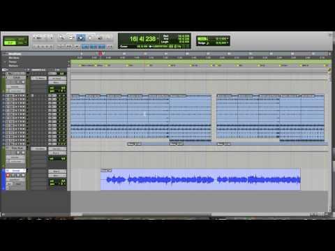 Recording & Editing Vocals In Pro Tools