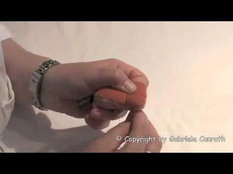 Teil 2 - Skulptieren / plastische Chirurgie an einer Teddypfote