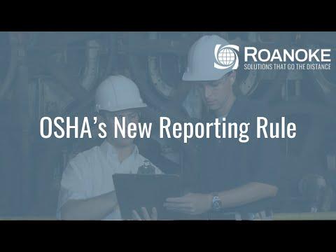 OSHA's New Reporting Rule