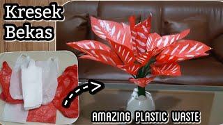 Video Cara membuat tanaman hias dari kresek bekas | DIY how to make  caladium tree with plastic bag MP3, 3GP, MP4, WEBM, AVI, FLV Maret 2019