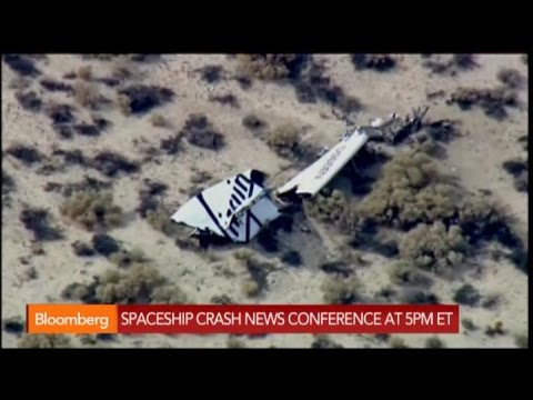 ship - Oct. 31 (Bloomberg) -- A spacecraft for Sir Richard Branson's Virgin Galactic tourism operator crashed during a test flight in California's Mojave Desert, and CNBC reported that one of...