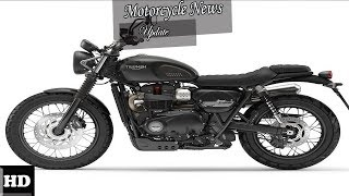 8. HOT NEWS  !!!  2018 Triumph Street Scrambler Engine and Price Overview  Price and Specs