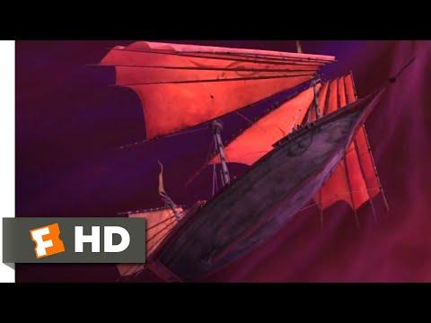 Sinbad (2003) - The Edge of the World Scene (8/10) | Movieclips