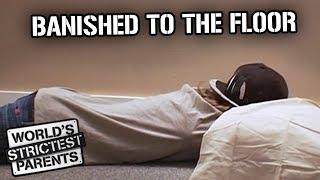 Video Banished to the Floor | World's Strictest Parents MP3, 3GP, MP4, WEBM, AVI, FLV Maret 2019