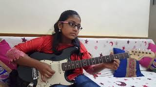 Video Ye Raat Bheegi Bheegi Guitar short solo by Saanvi Iyer download in MP3, 3GP, MP4, WEBM, AVI, FLV January 2017