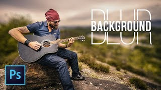 3 Simple Steps to Blur Background in Photoshop