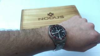 Nodus have really made quite the effort with their first release, the Trieste. Available in 24 variants (case, bezel, movement and date / no date are the options), you can select the configuration that you like most. At $500 with a Swiss STP 1-11 or $350 with a Seiko NH35A, it's a seriously competitive timepiece that is made to a very high standard. Read the full review here: https://www.watchitallabout.com/nodus-trieste-watch-review/