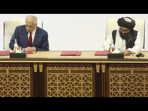 Υπεγράφη η ειρηνευτική συμφωνία ΗΠΑ και Ταλιμπάν